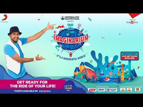 Imaginarium - It's a Wonderful World Tour | India's First Live Art Show