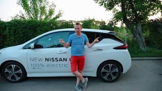 New Nissan Leaf 2019 Steve's Auto Vlog 6 - electric car DRIVE TEST