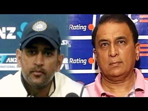 Dhoni still the best man to lead India in Tests, says Gavaskar