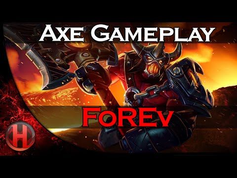 FoREv Axe Gameplay Dota 2