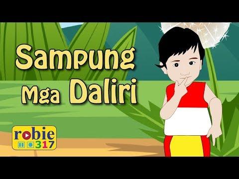 Sampung mga daliri animated (Awiting Pambata)