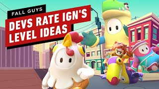 Fall Guys: Game Designers Rate IGN's Level Ideas
