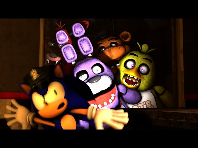 Sonic in Five Nights at Freddy's