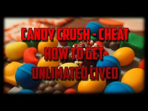 Candy crush saga Cheat/hack unlimited lives! (Easy)