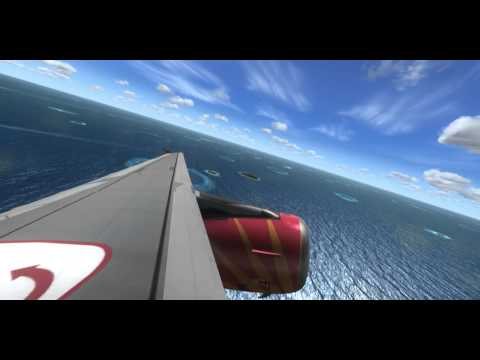 Air India Take Off from Maldives (FSX)
