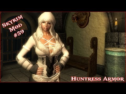 The Elder Scrolls V: Skyrim - Huntress Armor UNPB Mod
