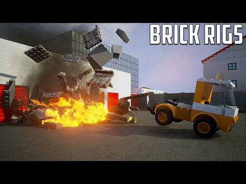 Brick Rigs - CRASH AND BURN
