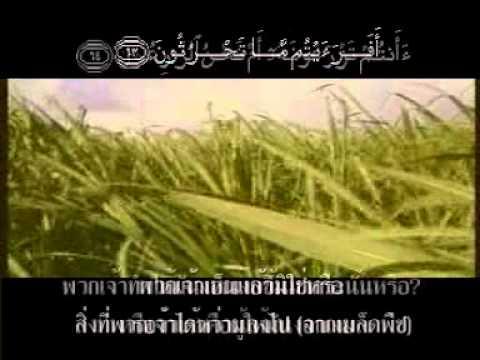 ซูเราะฮ์ อัลวากีอะฮ์ — พร้อมความหมาย