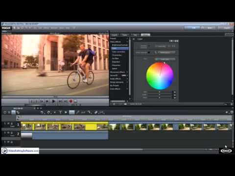 Alpha Mask Effects in Magix Movie Edit Pro Plus - Video Editing