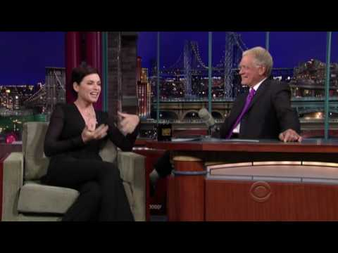 Julianna Margulies on Letterman 09/08/2009