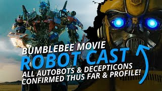 Transformers: ALL Autobot & Decepticon Robot Cast Confirmed! 😵 (Thus Far)