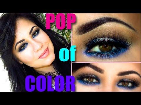 ♡ Pop of Color Makeup Tutorial ♡