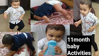 11month old baby activities, Growth development (Miggibaby)