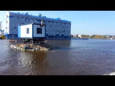 потоп во  комсомольске бери  амуре 2013 видео