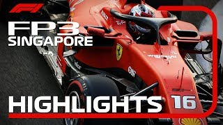 2019 Singapore Grand Prix: FP3 Highlights