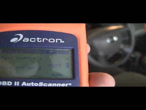 Check Engine Light On? Diagnose codes. repair and reset. Mazda Protege Example.