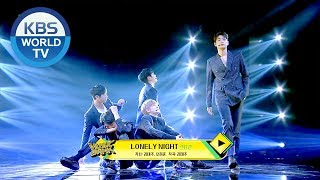 Knk 크나큰 Lonely Night Music Bank 2019 01 18