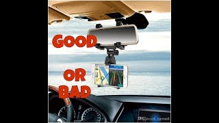 UNIVERSAL REAR CAR MIRROR MOUNT FOR MOBILE