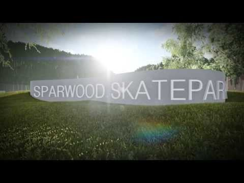 Sparwood, BC Skatepark 3D Model