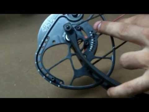 How To Change Draw Length and Poundage on PSE DNA and 2013 Bow Line