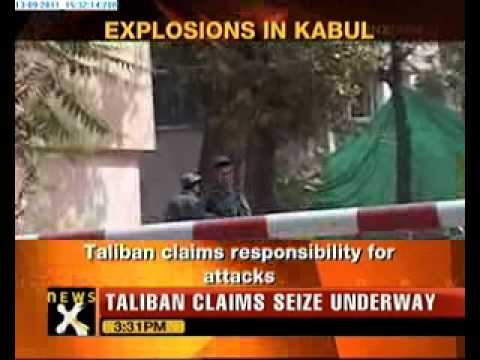 Taliban Targets Us Embassy In Kabul video