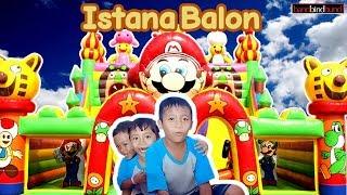 ISTANA BALON 😂 bandbindbund Main Perosotan Istana Balon Air, Mainan Anak Perosotan Lucu
