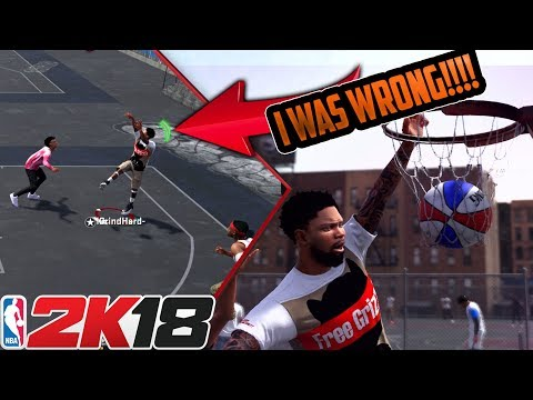 NBA 2K18 I WAS WRONG ABOUT PLAYGROUNDS!!! I'M UNSTOPPABLE NOW!!!!