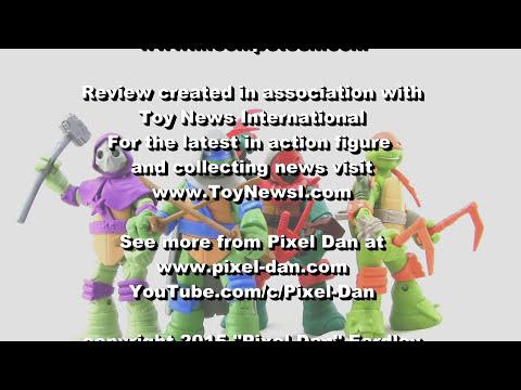 Nickelodeon Teenage Mutant Ninja Turtles Mystic Turtles Figures Video Review