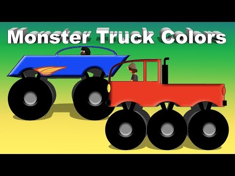 Vids4kids. tv — Monster Truck Colors Video For Children