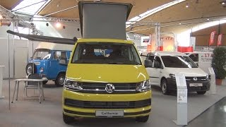 Volkswagen California Beach Pop Up Roof 2.0 TDI EU6 SCR BMT (2016) Exterior and Interior in 3D