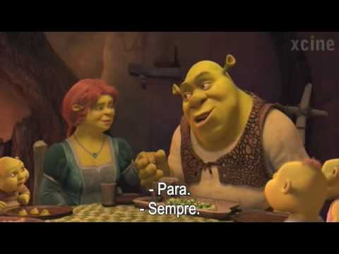 SHREK 4  PARA SEMPRE (SHREK FOREVER AFTER)   TEASER TRAILER HD   LEGENDADO