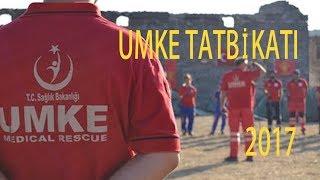 UMKE - 15. Bölge Tatbikatı Eğitimi Nisan 2017