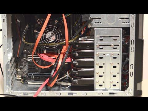 5 SATA hard drives RAID 0 benchmark and tutorial