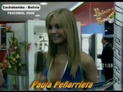 Paula Peñarrieta Feicobol  2008....VIVA BOLIVIA