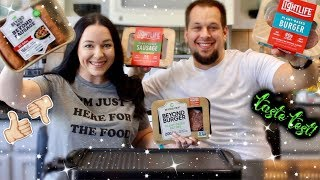 Beyond Meat vs Light Life Taste Test! | Which Reigns Supreme?!