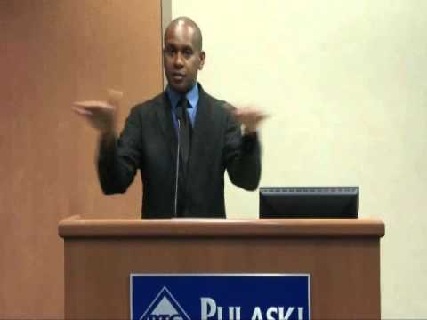 Tupac biographer, Kevin Powell visits Pulaski Technical College