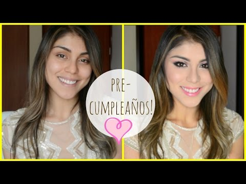 VIDEO: MAQUILLAJE GLAMUROSO DE CUMPLEAÑOS!?- PAUTIPS
