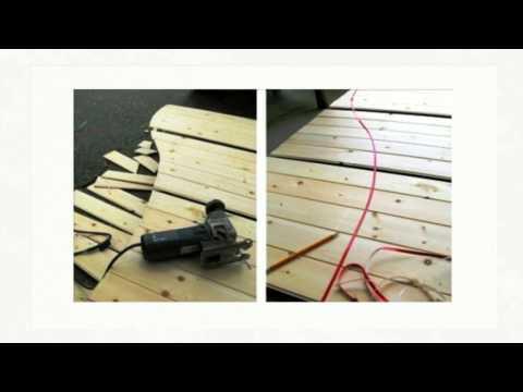 Рольставни деревянные своими руками