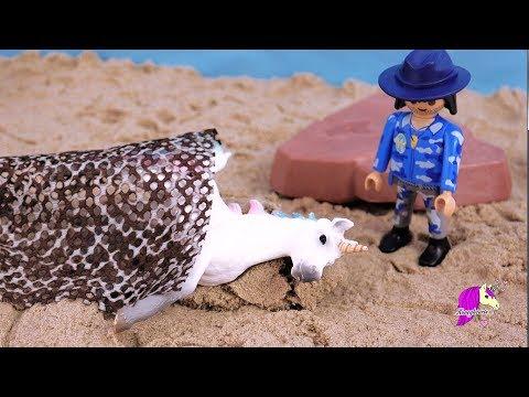Sea Star Unicorn ! Schleich Horse Summer Video Series Part 2