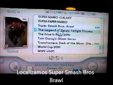 Copeando un juego de wii - Super Smash Bros Brawl