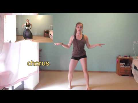 How To: Belly Dance To Dare Lalala-shakira Fifa Brazil Song Tutorial video