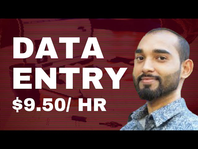 Online Data Entry Work - Best Tutorial For Beginners - How to Do Data Entry Jobs