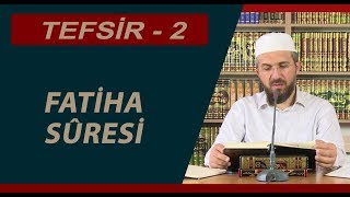 Tefsir Dersi  1 - (Fatiha Suresi Tefsiri) - İhsan Şenocak Hoca