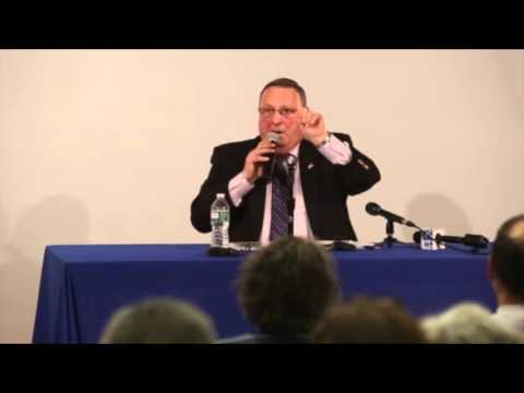 LePage heckled in Freeport