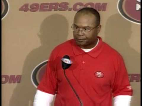 Mike Singletary Post Game after Seahawks Video