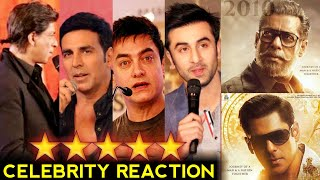 Bharat Movie Official Poster Bollywood Celebrity Reaction》Salman Khan-Katrina Kaif-Ali Abbas Zafar