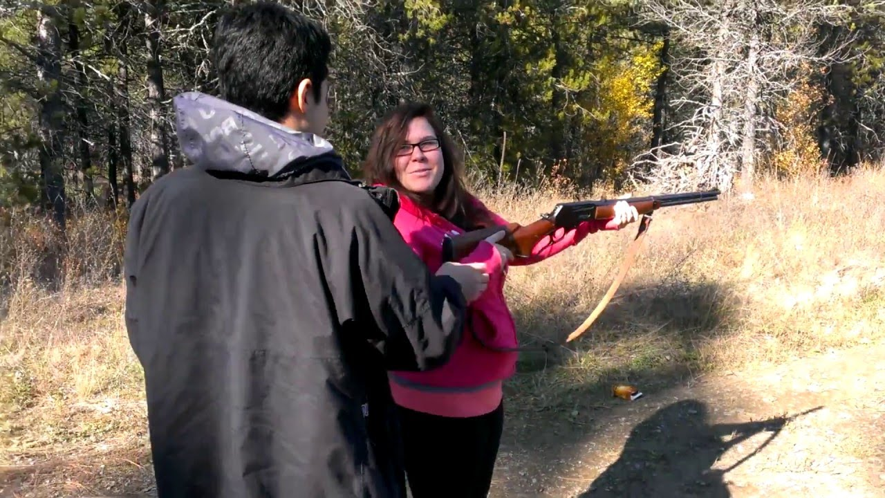 "[""I Didn't Aim?"" This Woman Shouldn't Be Trusted Around Rifle] Video"