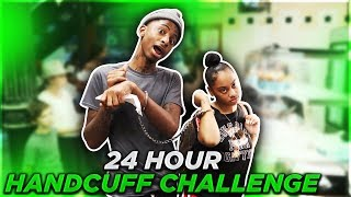 24 HOUR HANDCUFF CHALLENGE (BOYFRIEND STEALS OUT STORE)