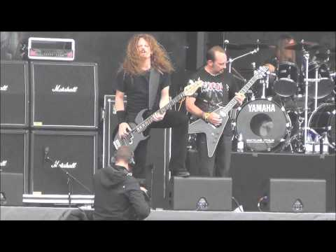 Exodus - A Lesson In Violence Sweden Rock 2012