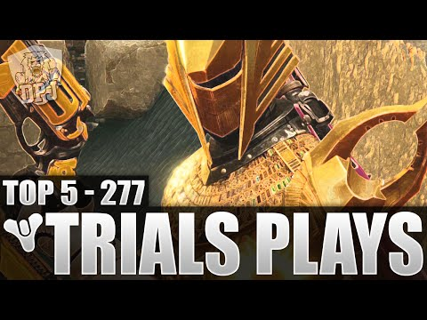 Destiny: INSANE COMEBACK! Top 5 Trials Of Osiris Plays Of The Week / Episode 277